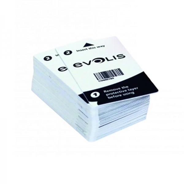Evolis Zenius/Primacy Zelfklevende Reinigingskaart einzeln