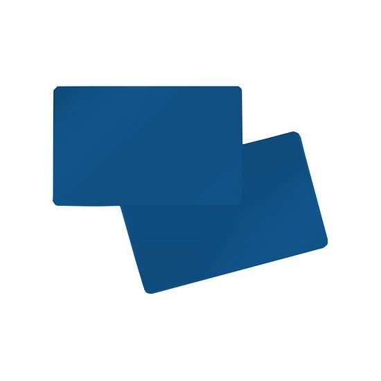 Effen Kaart blauw