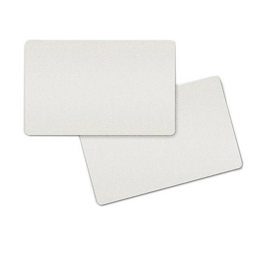 Plastic Kaart Wit Blanco 0,76mm