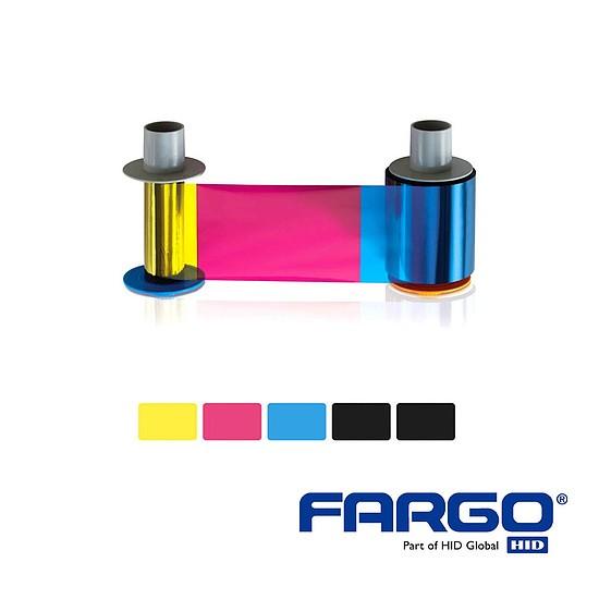 HID Fargo HDP5000 Ribbon YMCKK