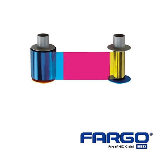 HID Fargo C50 YMCKO Ribbon 100Prints Refill